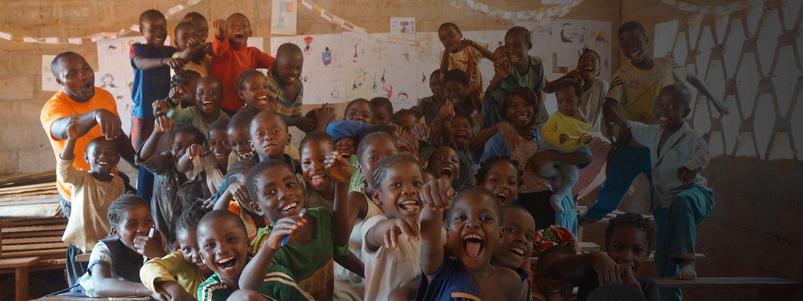 Kids in Cameroon, Africa